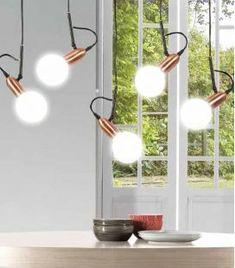 Comprar online Lámpara Colgante de techo de estilo Industrial Colección GLOBBUS