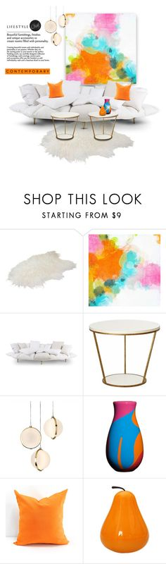 """""""Contemporary"""" by youaresofashion ❤ liked on Polyvore featuring interior, interiors, interior design, home, home decor, interior decorating, Redford House, Baroncelli, Corsi Design Factory and contemporary"""