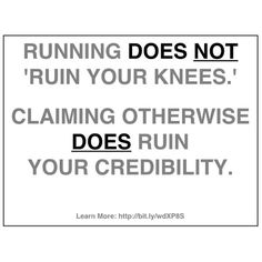 haha...my knees are already ruined so it wouldn't matter anyways :P