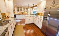 Kitchens of any size can still be beautiful!