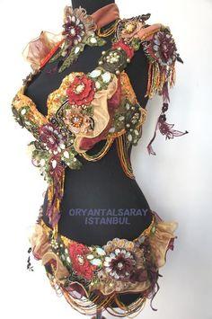 ベラ新作ブーケフリルのブラベルトセットが入荷 | イスタンブールのダンスファッション&民族衣装専門店オリエンタルサライのブログ