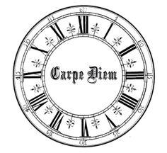 Clock - Carpe Diem