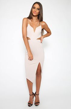 Life Of The Party Dress - Grey