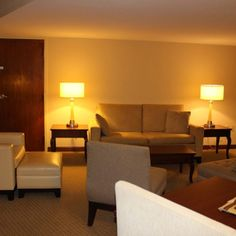 King Junior Suite at the DoubleTree by Hilton Orlando Airport Hotel Orlando Airport, Airport Hotel, Airport Shuttle, Hotel Reviews, King, Chair, Furniture, Home Decor, Decoration Home