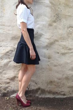 D V F skirt