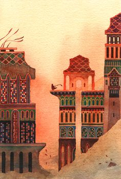 artchipel:  Minna Katriina aka Nokkasili   on Tumblr - inspired by Journey 2 (1)