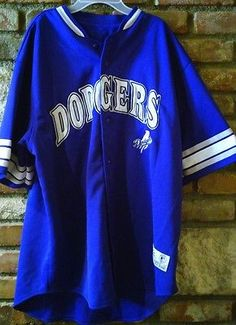 Los Angeles Dodgers Baseball Jersey Nomar Garciaparra #5 Genuine Merchendise XL