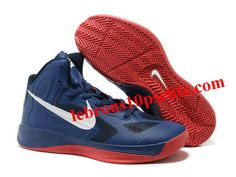 sale retailer 647e1 fc576 Nike Zoom Hyperfuse 2012 Jeremy Lin Shoes Blue Red White