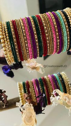 Silk Thread Earrings Designs, Jewelry Design Earrings, Bead Jewellery, Cute Jewelry, Jewelery, Bridal Jewellery Inspiration, Gold Ring Designs, Indian Jewelry Sets, Bridal Bangles
