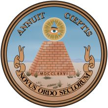 Satanic All-Seeing Eye Exposed! Great Seal of the United States (reverse).