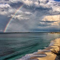 Beautiful rainbow in Nassau Paradise Island!