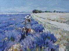 artist Zaitsev Alexi, Provencal landscape