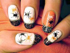halloween  #nail #nails #nailsart