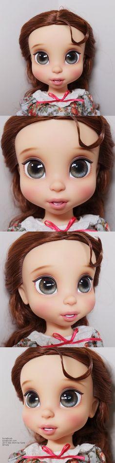 Disney Animadores Colección Muñecas - Belle por Yvely