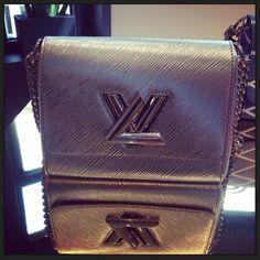 Louis Vuitton Silver Twist Bag - Cruise 2015
