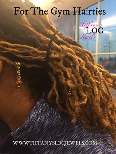 Dreadlock Holders, Loc Ties www.tiffanyslocjewels.com