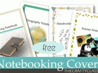 Notebooking printables - butterfly, aquarium, fungus, bugs,science, history.