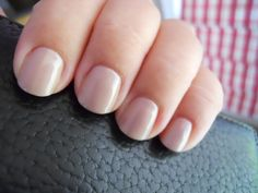 Red Carpet Manicures - Simply Stunning   -nude color with subtle shimmer