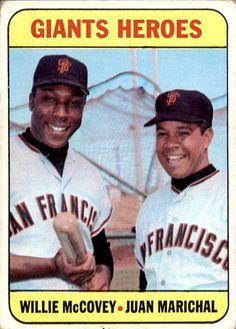 Willie McCovey/Juan Marichal 1969 Topps #572