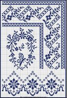 Antique French Patterns for Tablecloths or Pillowcases