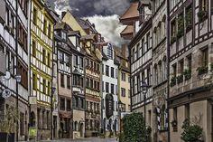 Weissgerbergasse - Nuremberg, Germany  www.casual-opulen...