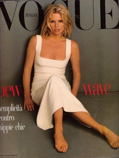 Patti Hansen by Steven Meisel Vogue Italia January 1993