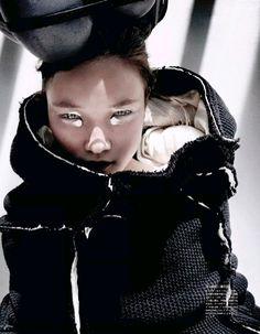 Yumi Lambert by Mario Testino for Vogue Japan November 2014