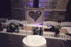 Best Day Ever Wedding Cake Topper | Contemporary Vintage Grove Redfield Estate Wedding In Illinois | Photograph by Korto Photography  http://storyboardwedding.com/vintage-grove-redfield-estate-wedding