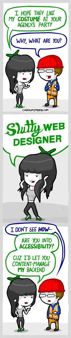 Cheer Up, Emo Kid :: Designers Halloween 2 | Tapastic Comics - image 1