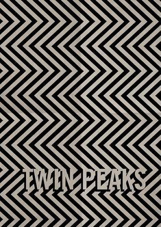 Twin Peaks by Adam Armstrong - Graphic Design - Poster movie film cinema - minimalist