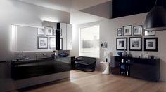 Font Bathroom - Scavolini by Scavolini Kitchen, Living and Bathroom with Artemide Nur