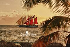 Sunset Sail - HDR - 8 x 10 color print of sailboats sailing at sunset in Key West, Florida  $20.00 USD Only 1 available