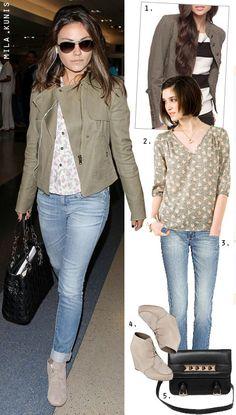Mila Kunis - Celebrity Style - The Budget Babe