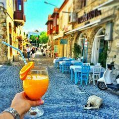 Günaydın! 🌄 Herkese iyi haftalar... Alaçatı, İzmir #Türkiye 🌅 ⛵  👍 facebook.com/hadigezcom  📷 ınstagram @hadigezcom  🌎 http://hadigez.com