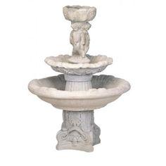 Two Tier Round/ Three Cherubs Deep Bowl Fountain Outdoor Fountains, Cherubs, Backyard, Deep, Wedding Ideas, Outdoor Decor, Home Decor, Homemade Home Decor, Yard