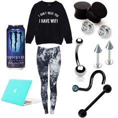 Lazy day (pjanning and saving for my next peircing-my most recent being by xxmentalydeadxx on Polyvore featuring polyvore, fashion, style, FOSSIL and Bling Jewelry