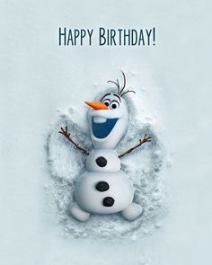 Joyeux Anniversaire Olaf Best Of Feliz Cumpleaños Corazon Birthday Quotes For Him, Happy Birthday Images, Birthday Pictures, Happy Birthday Messages, Birthday Greetings, Olaf Birthday Party, Birthday Balloons, 2nd Birthday, Olaf Party