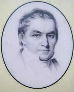 """Samuel Richards (1769-1842) was a prominent ironmaster from Philadelphia and the operator of the Atsion furnace along the Mullica River.  In 1824, Richards purchased the Atsion property, beginning its most successful period. Samuel Richard's father, William, had been successful at Batsto in building an """"iron dynasty."""" He was born to wealth and twice married into wealthy families. Under Richards' helm at Atsion he constructed a mansion, company store, church, and numerous workers dwellings."""