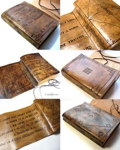 Personalized Large Leather Journal A5 Guest Book by codice on Etsy, €65.00