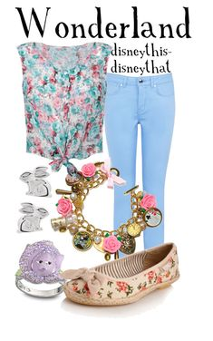 """Wonderland"" by disneythis-disneythat ❤ liked on Polyvore"