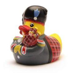 Badeente Schotte Rubber Duck Scottish Piper