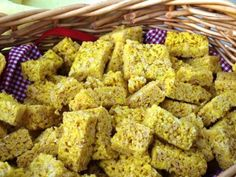 Yellow Bricks Rice Krispies- so cute for a Wizard of Oz party!