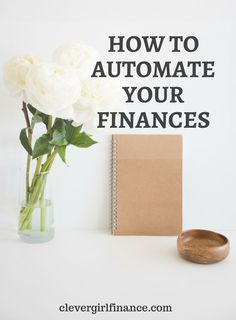 Automating your finances is a great way to stay on top of your bills and your savings goals. Check out these simple tips how to do it.