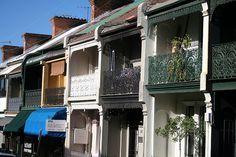 Paddington houses (Sydney).Australia