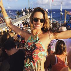 Reliving and passing on the #goodvibes  #Carnaval #Brasil  Saudade dessa folia  by alessandraambrosio