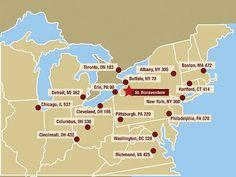 Map to Bonas