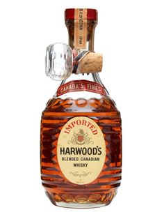 Harwood's Blended Canadian Whisky / Bot.1940s : Buy Online - The Whisky Exchange - An old bottle of Harwood's Blended Canadian whisky that we think was released some time in the 1940s.