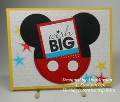 SU Dawn Griffith - Disney 2012 Amy Jordan swap #1 scrapbook card