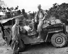 Ernie Pyle - WWII War Correspondent - very powerful words Military Jeep, Military Vehicles, Raiders, Ww2 Photos, Photographs, Willys Mb, Old Jeep, Ww2 History, Jeep Models