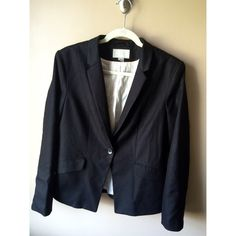 Women's Blazer Like new!! Great condition and only worn a handful of times! Great piece to wear to work or to dress up an outfit. Doesn't stretch! H&M Tops